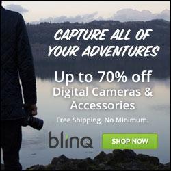 Up to 70% off Digital Cameras