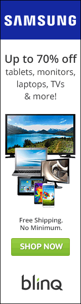 Samsung Up to 70% Off! 160x600