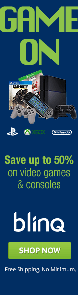 Save up to 50% on video games