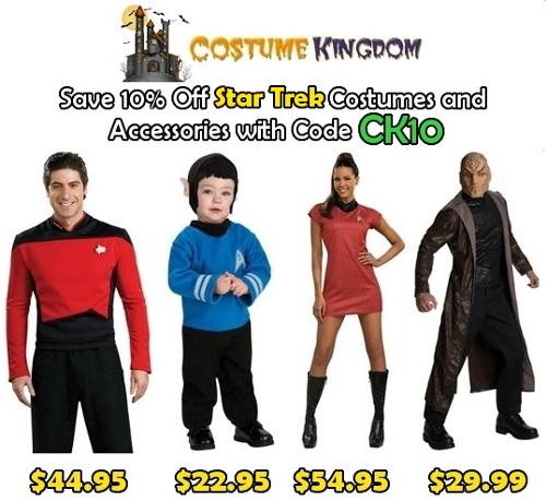 10% off Star Trek
