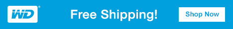 WD Free Shipping landing on