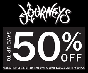 Save Up to 50% Off on Select Styles at Journeys
