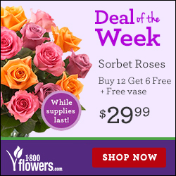 In addition to Flowers promo codes for free flower delivery, Flowers offers up to a 35% discount to active duty and retired military personnel and families with Veterans Advantage. Check out giveback.cf for details and other exclusive offers, online coupons and promo codes.