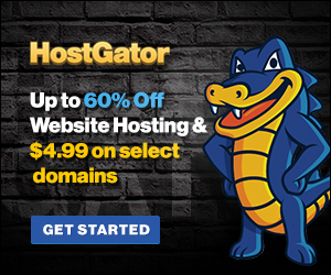 HostGator website hosting 60% off