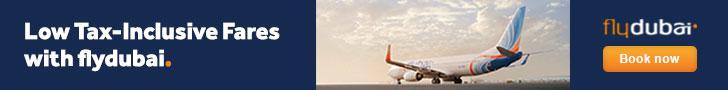 Book your flight on FlyDubai!