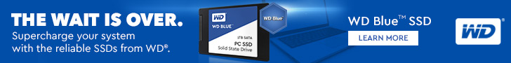 WD Blue SSD (Solid State