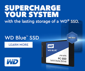 WD Blue SSD Supercharge