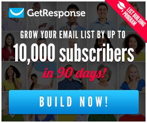 GetResponse List Building Program