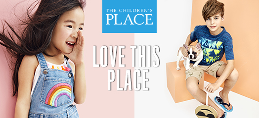 the childrens place where kids love to shop and parents save money